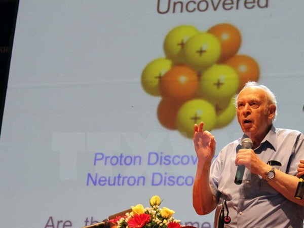 Seminar on Quarks underway in Quy Nhon hinh anh 1