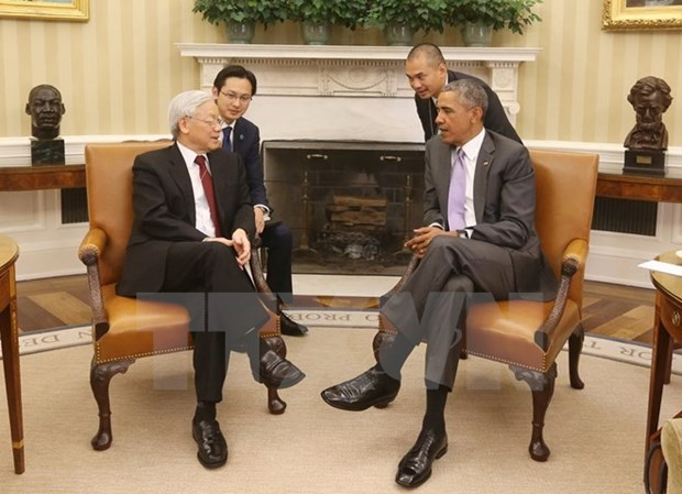 US Ambassador hails Party leader US visit hinh anh 1