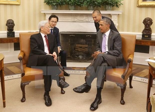 US Ambassador hails Party leader US visit hinh anh 1