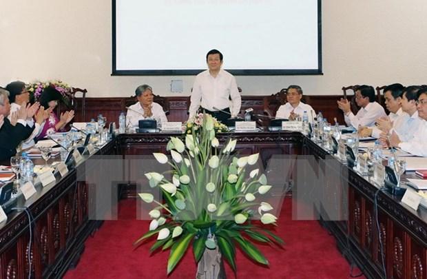 President Sang calls for better sentence enforcement hinh anh 1