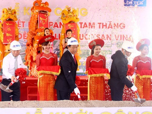 Works begin on two Panko textile-garment plants hinh anh 1