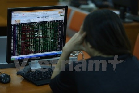 Mid-cap shares buoy VN-Index as blue chips slump hinh anh 1
