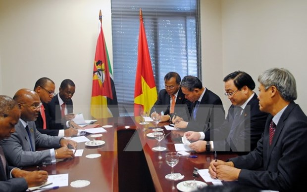 Deputy PM wraps up visit to Mozambique hinh anh 1