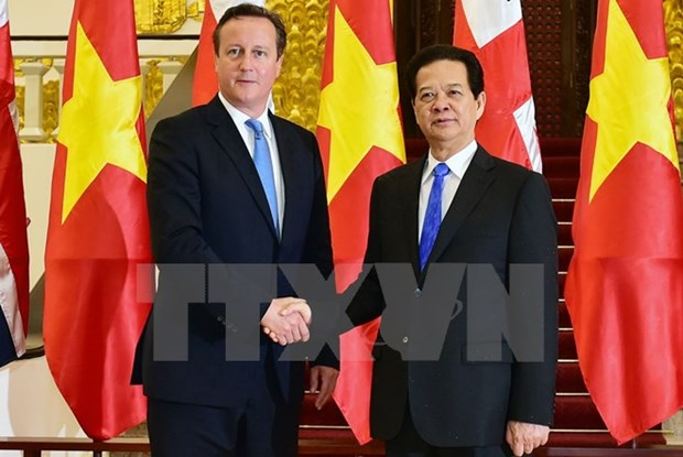 UK to strengthen ties with ASEAN hinh anh 1