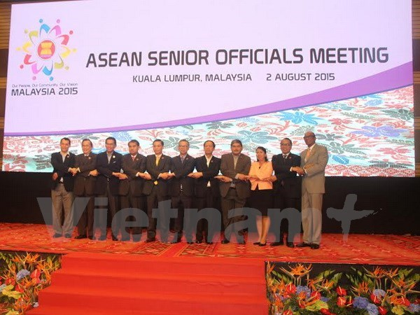 ASEAN senior officials commence session hinh anh 1