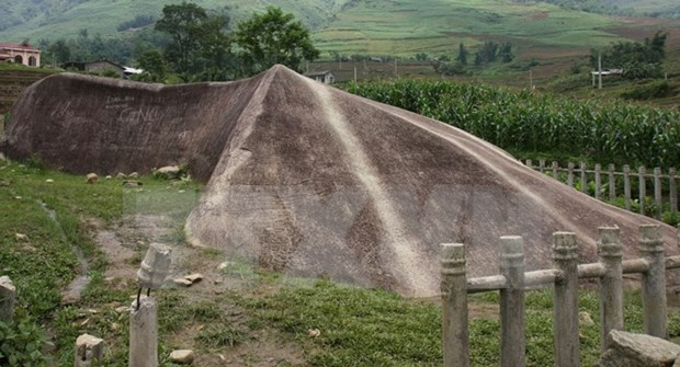 Ancient stones uncovered in Mu Cang Chai hinh anh 1