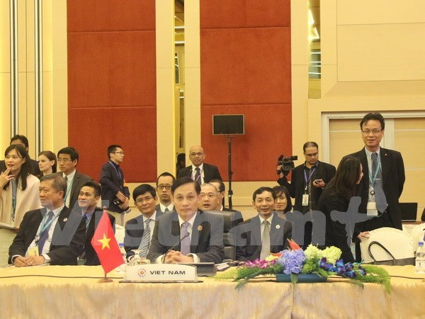 Vietnam attends AMM 48-related meetings hinh anh 1
