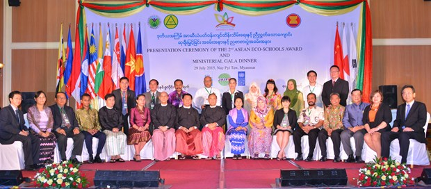ASEAN Environment Year 2015 celebrated in Myanmar hinh anh 1
