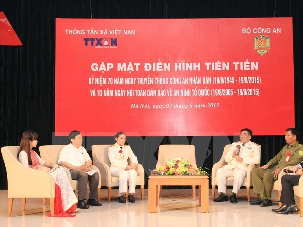 Vietnam News Agency supports police force hinh anh 1