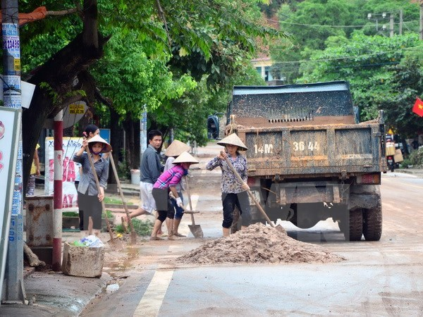 Nation gears toward Quang Ninh in flood recovery effort hinh anh 1