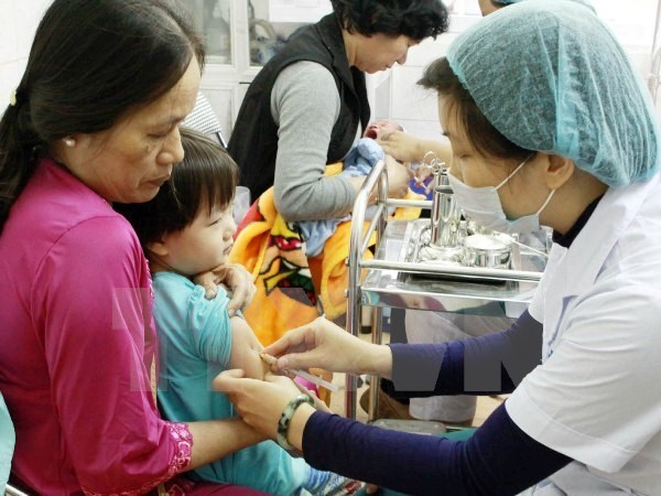 Nationwide vaccination campaign stops measles spread hinh anh 1