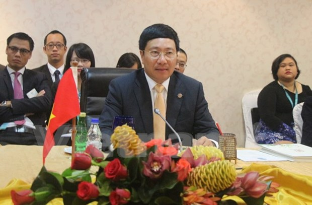 US support needed for Mekong growth balance: Deputy PM hinh anh 1
