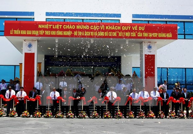 VSIP Quang Ngai launches phase II hinh anh 1