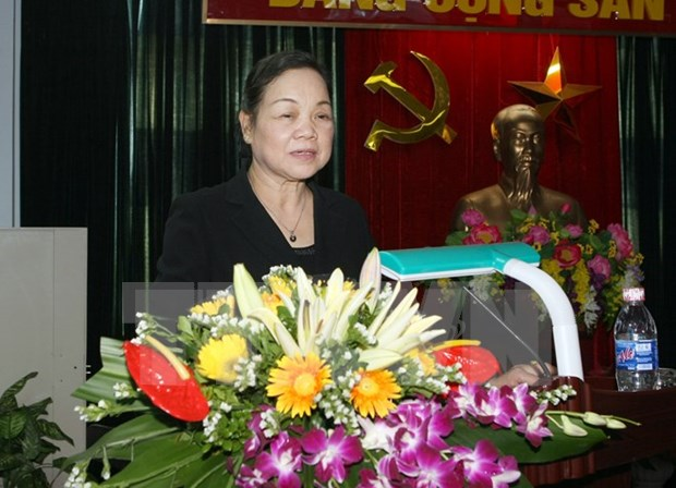 Mass mobilisation commission head meets OVs in New York hinh anh 1