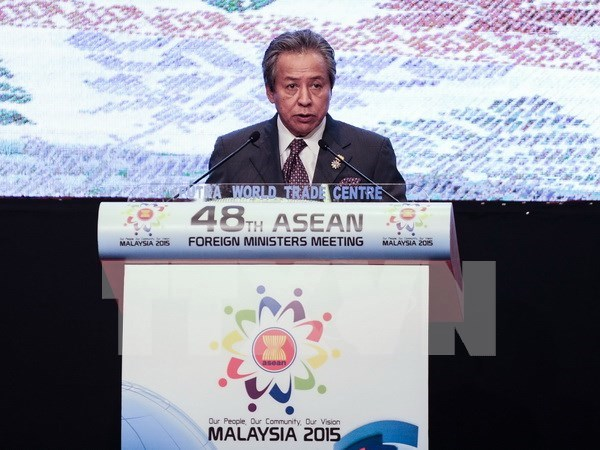 AMM 48 confirms solidarity in establishment of ASEAN Community hinh anh 1