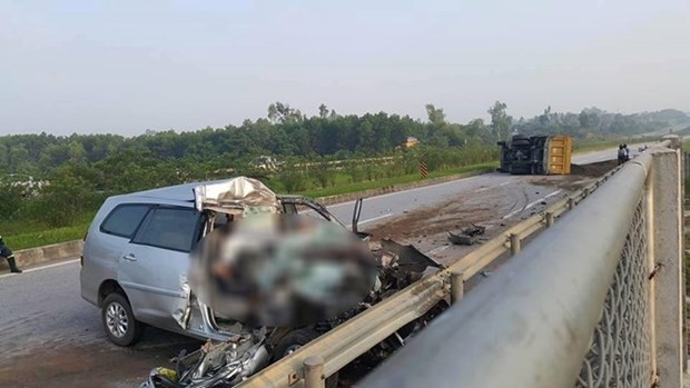 Car crash kills three RoK nationals hinh anh 1