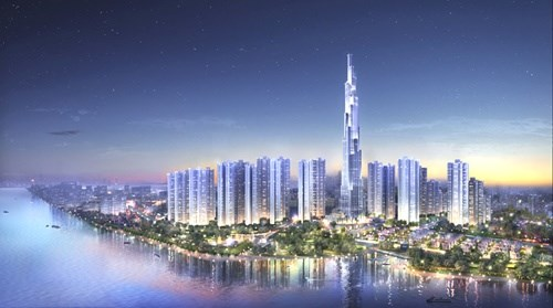 UK firms start work on Vietnam's tallest building hinh anh 1