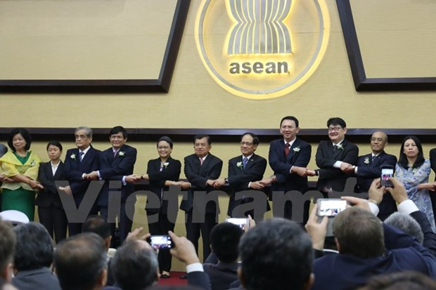 ASEAN founding anniversary marked in Indonesia hinh anh 1