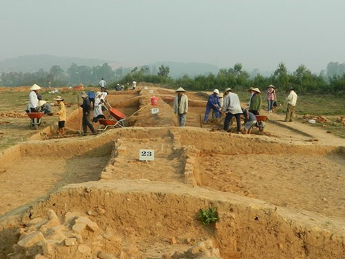 Champa cultural relic site to be relocated hinh anh 1