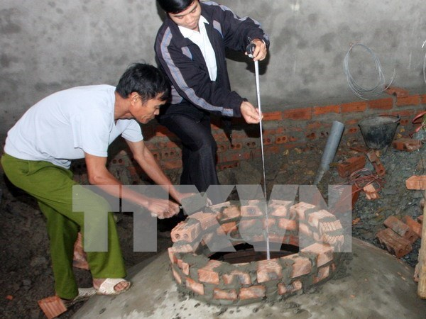 Binh Dinh installs 3,600 biogas systems hinh anh 1