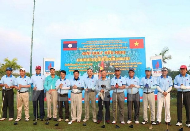 Vietnam People's Police Force traditional day marked in Laos hinh anh 1