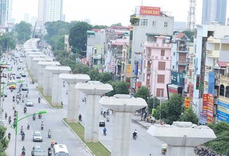 Hurry up call for urban skytrain in capital hinh anh 1