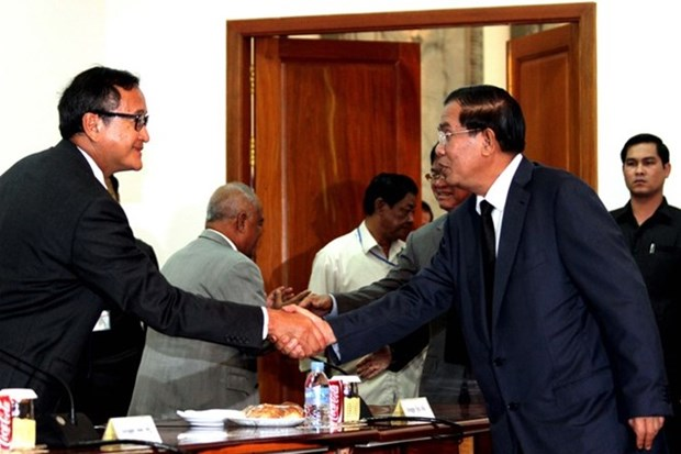 Cambodian parties discuss legal affairs hinh anh 1