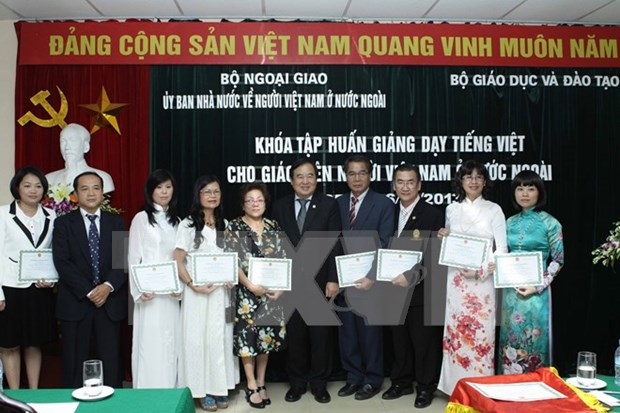 Solutions to Vietnamese language training overseas hinh anh 1