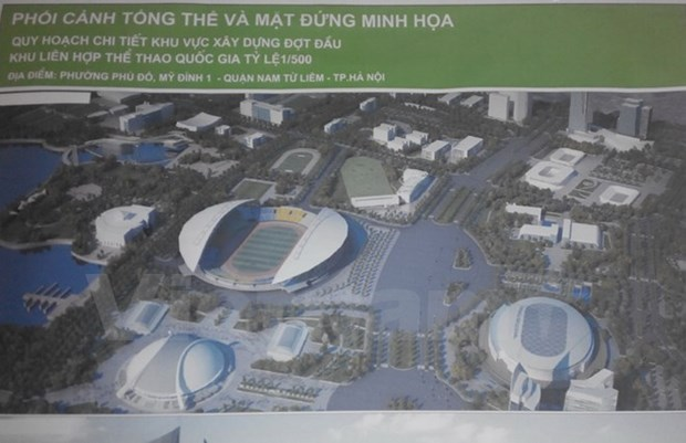 Detailed National Sports Complex planning announced hinh anh 1