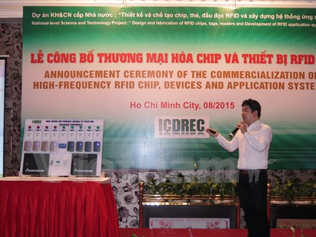 Research centre announces commercialisation of RFID HF chip hinh anh 1