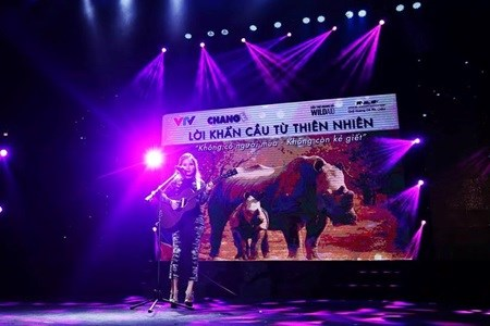 Concert protests rhino horn use hinh anh 1