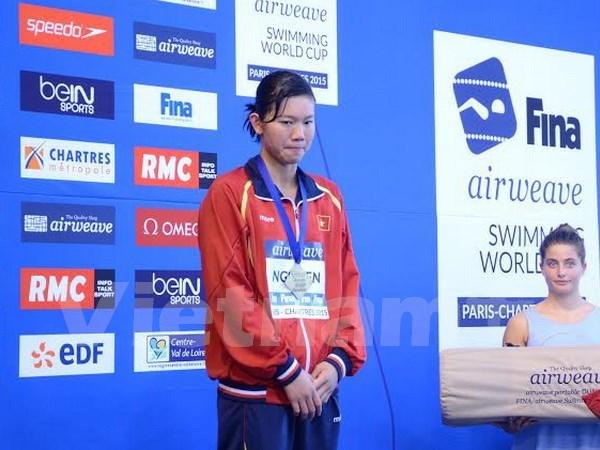 Swimming: Vien wins 400m individual medley world bronze hinh anh 1