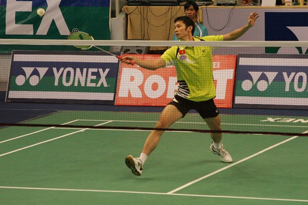 Top local badminton players face tough competition at Vietnam Open hinh anh 1