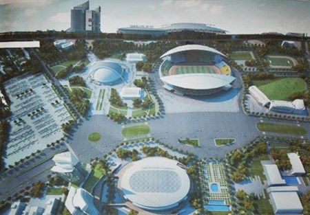 Capital announces plans for National Sports Complex hinh anh 1