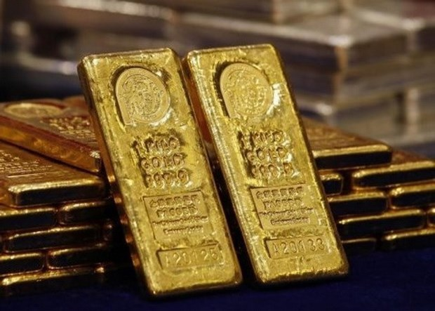 Gold, USD prices spike hinh anh 1