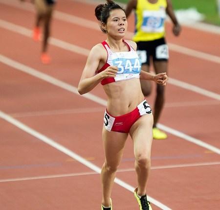 Short-distance runner gets set for Beijing test hinh anh 1