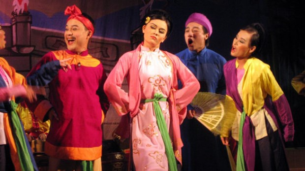 Young Hanoians to present show on cheo plays hinh anh 1