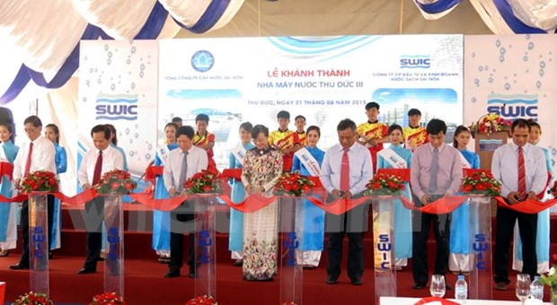 HCM City expanded water plant inaugurated hinh anh 1