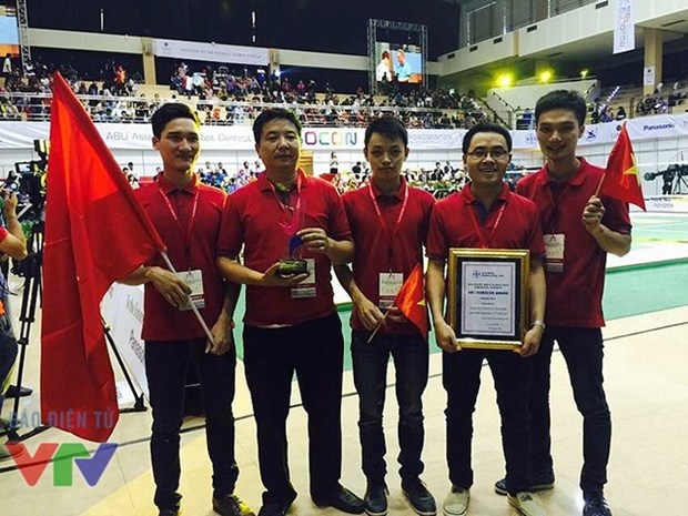 Vietnam triumphs at Asia-Pacific robot contest for fifth time hinh anh 1