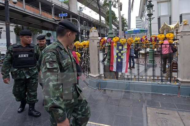 Two arrested for spreading false information about Bangkok blast hinh anh 1