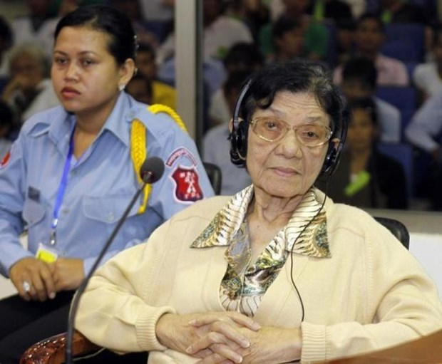 Cambodia: First Lady of Khmer Rouge dies at 83 hinh anh 1
