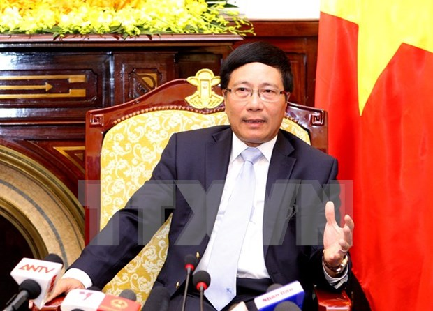 Deputy PM receives German parliamentary group leader hinh anh 1