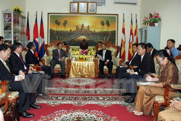 Vietnam, Cambodia boost cooperation in religion management hinh anh 1