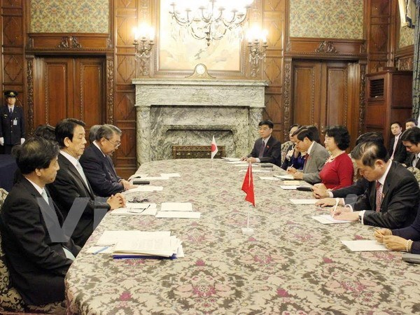 Vietnam wishes to bolster legislative ties with Japan hinh anh 1