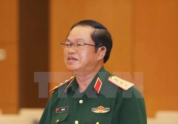 Vietnamese army delegation visits Laos hinh anh 1