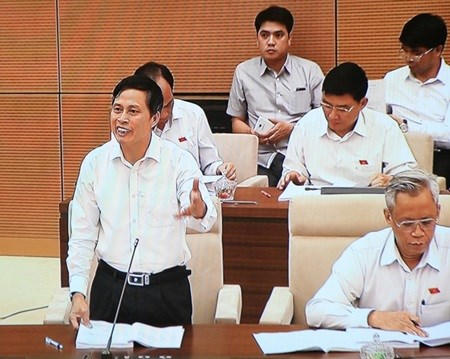 National Assembly discusses draft Criminal Code hinh anh 1