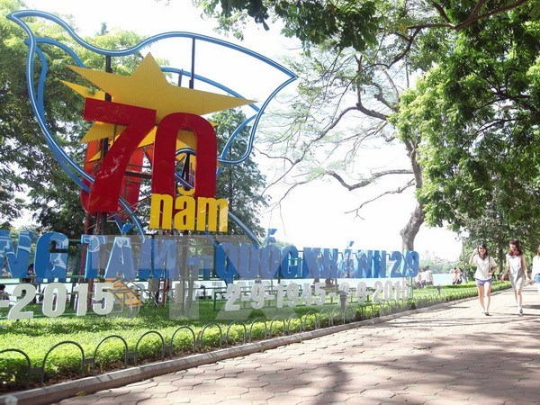 Hanoi gears up for National Day celebrations hinh anh 1