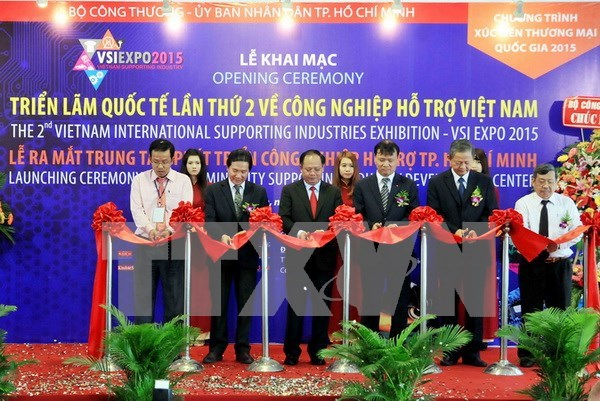 Support industry expo opens in HCM City hinh anh 1