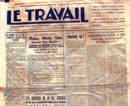 Revolutionary press on display in Hanoi hinh anh 1