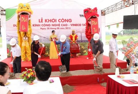 VinEco builds greenhouse in Vinh Phuc hinh anh 1